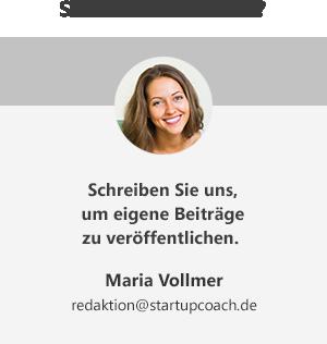 Jetzt startupcoach.de-Autor werden!